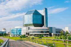 National Library Of Belarus In Minsk Stock Photos