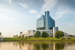 National Library of Belarus Royalty Free Stock Photo