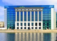 National Library of Bucharest Royalty Free Stock Photography