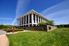 National Library Canberra. Australia front view Stock Image