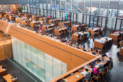 National library of China Royalty Free Stock Photos