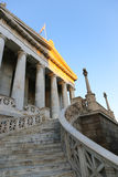 The National library of Greece in Athens Stock Photo