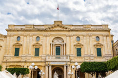 The National Library of Malta. In Valletta Royalty Free Stock Image