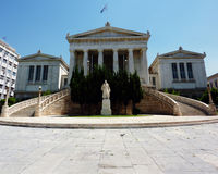 National Library Of Greece, Or Gennadeios Library Royalty Free Stock Image