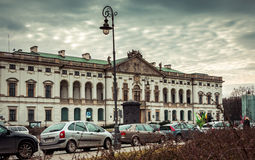 National Library of Poland Royalty Free Stock Photography