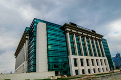 National Library of Romania Stock Photography