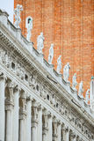 National Library of Saint Mark in Italy Stock Photo