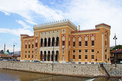 National Library in Sarajevo Royalty Free Stock Photo