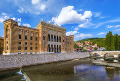National library in Sarajevo - Bosnia and Herzegovina Royalty Free Stock Photo