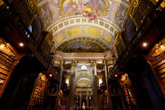 National library, Vienna Stock Photo