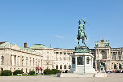 National Library in Vienna, Austria royalty free stock photo