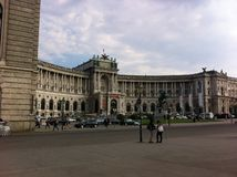 National Library. It is a National Library in Vienna, Austria Royalty Free Stock Photos