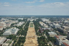 National Mall and Capitol Stock Photo