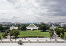 National Mall From The Speaker's Balcony Stock Photo