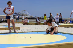 National Marbles Tournament - Wildwood, New Jersey Stock Photos
