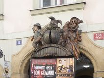 National Marionette Theatre, Prague Stock Images