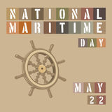 National Maritime Day Stock Photography