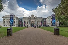 National Maritime Museum In Greenwich, London, England, Great Britain Royalty Free Stock Photo