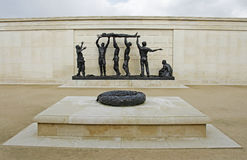 National Memorial Arboretum, UK. The National Memorial Arboretum is located in Staffordshire and commemorates all members of the armed forces who have died since Stock Image