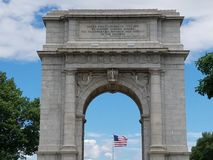 National Memorial Arch close-up stock photos