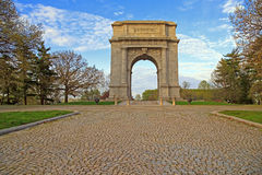 National Memorial Arch in Morning Light Stock Image