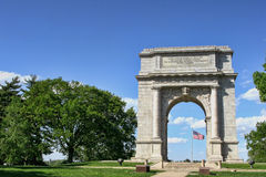 National Memorial Arch at Valley Forge royalty free stock images
