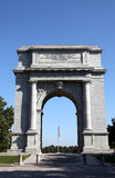 National Memorial Arch - Valley Forge. This monument honors the Revolutionary War soldiers who endured the brutal winter of 1776 under General George Washington Stock Photos