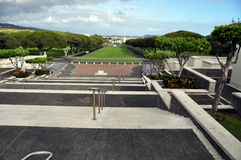 National Memorial Cemetery of the Pacific Royalty Free Stock Photos