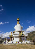 National memorial chorten, Bhutan Royalty Free Stock Images