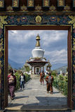 The National Memorial Chorten located in Thimphu, the capital city of Bhutan Royalty Free Stock Images