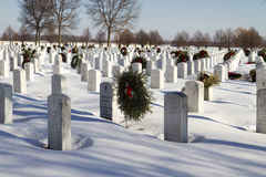 National Memorial Military Cemetery Royalty Free Stock Photos