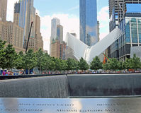 National 9/11 Memorial Park Stock Images