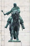 National memorial Prague Vitkov statue Royalty Free Stock Photo