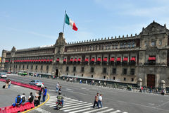 The  National Mexican palace Royalty Free Stock Photo