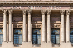The National Military Circle (Cercul Militar National) In Bucharest Royalty Free Stock Images