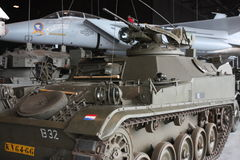 National military Museum in Soest in Netherlands Royalty Free Stock Photo