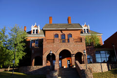 National Mining hall of fame and Museum. In historic Leadville Colorado stock photo