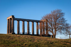 National Monument Calton Hill Royalty Free Stock Photo