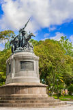 National Monument of Costa Rica in National Park of San Jose. Royalty Free Stock Photo