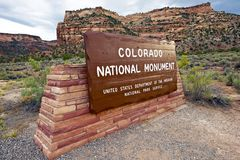 National Monument Entrance Royalty Free Stock Images