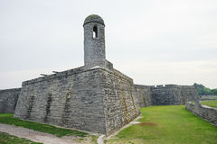 National Monument Florida: Fort Castillo de San Marcos Royalty Free Stock Photos