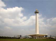 National Monument Indonesia royalty free stock photo
