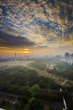 National Monument of Indonesia in Jakarta Royalty Free Stock Image