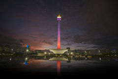 National Monument of Indonesia in Jakarta Royalty Free Stock Photography