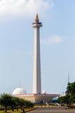 National Monument in Jakarta Royalty Free Stock Image