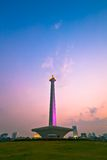 National Monument in Jakarta Royalty Free Stock Photos