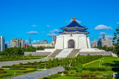 Chiang Kai-shek Memorial Hall in Taipei stock image