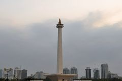National Monument Monas, Central Jakarta Royalty Free Stock Photos
