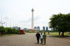 National monument, Monas, Jakarta, Indonesia Stock Images