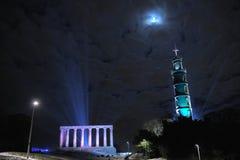 National Monument, Nelsons Memorial, Edinburgh stock photos